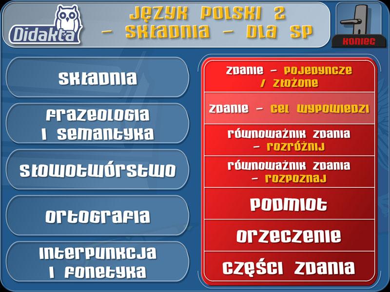 Didakta - Język polski 2