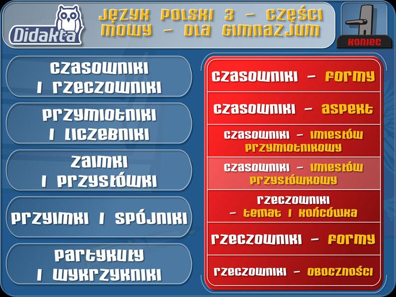 Didakta - Język polski 3