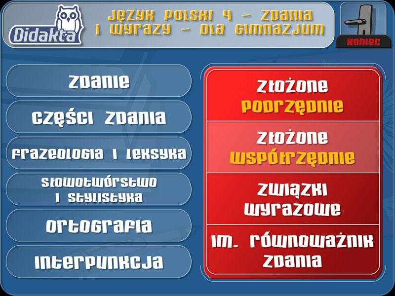 Didakta - Język polski 4