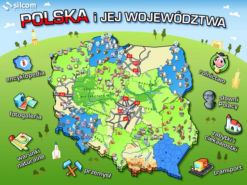Polska i jej województwa